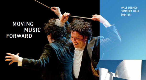 LA Phil 2014-15 brochure cover
