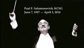 Rosary & funeral plans set for Paul Salamunovich