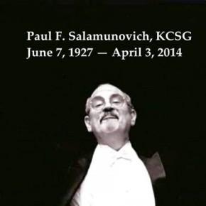 Rosary & funeral plans set for PaulSalamunovich
