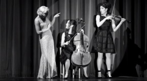 Music Video:  post-April-Fool's-Day classical music fun and silliness, care of the excellent duoW