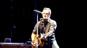 "VIDEO:  Bruce Springsteen covers Lorde's ""Royals"""
