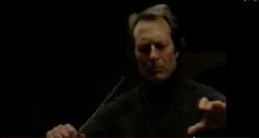 VIDEO:  Carlo Maria Giulini rehearsing the LA Phil in Beethoven's 9thSymphony