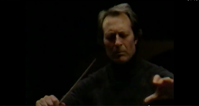 Carlo Maria Giulini rehearsing the Los Angeles Philharmonic in 1978