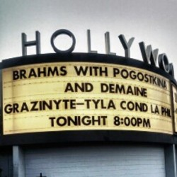 Hollywood Bowl marquee (photo by CK Dexter Haven)