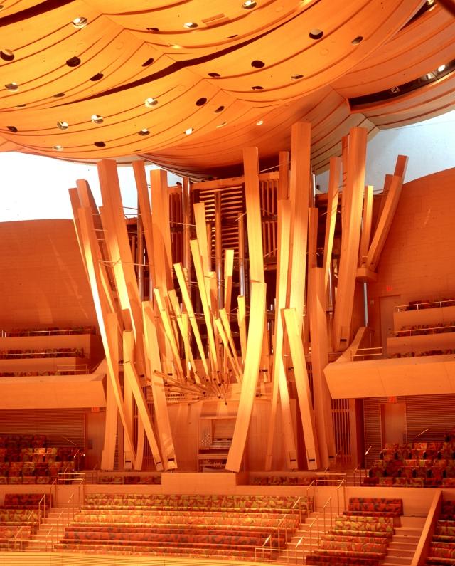 Walt Disney Concert Hall organ