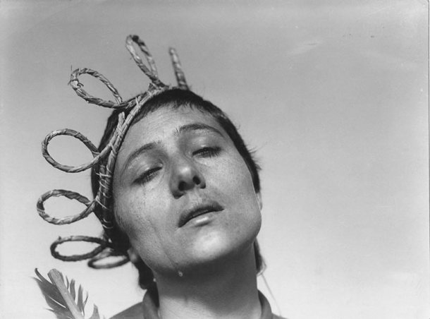 "Renee Maria Falconetti from ""The Passion of Joan of Arc"""