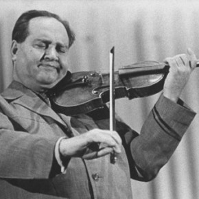 VIDEO (of sorts):  David Oistrakh playing Mozart with the Los AngelesPhilharmonic