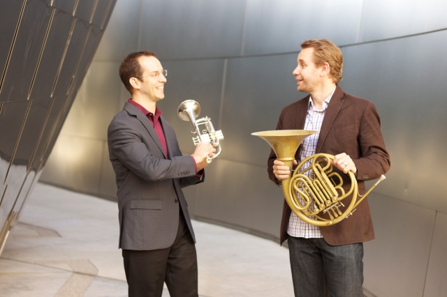 Tom Hooten and Andrew Bain (photo by CK Dexter Haven)