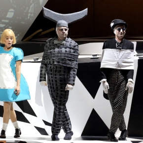 Down a different sort of rabbit hole:  the LA Phil finally brings Chin's <i>Alice in Wonderland</i> to SoCal