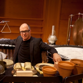 A chat with Steven Schick about the Ojai Festival, percussionists, and muchmore