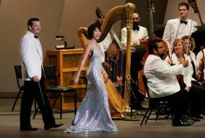 Yuja Wang dazzles in Hollywood Bowl classical season opener with Bringuier, LA Phil
