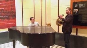 Video:  Andrew Bain and Eugene Izotov jazz up Strauss