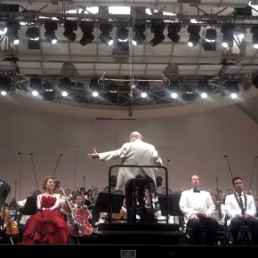 "VIDEO:  ""O Fortuna"" from Carmina Burana, care of the LA Phil, LA Master Chorale, and Fruhbeck deBurgos"