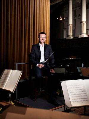 Lionel Bringuier, Chefdirigent der Tonhalle Zürich.