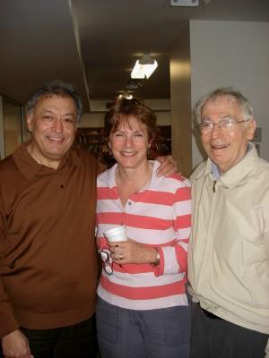 Zubin Mehta + Michele Zukovsky + Kalman Bloch