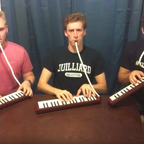 """89 seconds of awesomeness:  """"The Rite of Spring"""" on melodicas(video)"""
