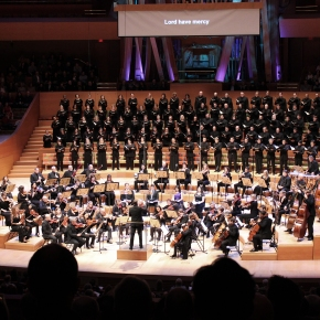 "Beethoven speaks for himself:  LA Master Chorale performs ""Missa Solemnis"""