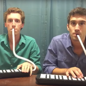 Sixty-six seconds of awesomeness (video):  virtuoso rendition of Tchaikovsky 4th on toy instruments