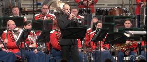 "Memorial Day music & video:  Tom Hooten, US Marine Band play ""With Malice Toward None"""