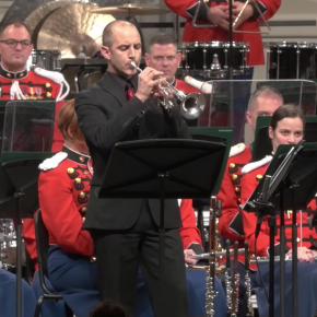 "Memorial Day music & video:  Tom Hooten, US Marine Band play ""With Malice TowardNone"""