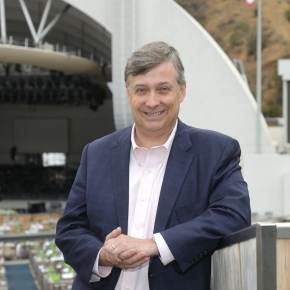 A chat with Simon Woods:  the LA Phil's CEO talks about his first 18 months in the job and how he's helping the orchestra succeed in the next 100 years