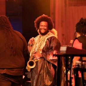 Kamasi Washington thrills in powerful and inspirational Hollywood Bowlconcert