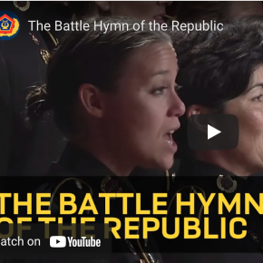 """VIDEO:  """"The Battle Hymn of the Republic"""" by the US Army FieldBand"""